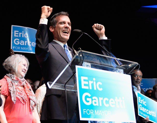 LA Mayoral Candidates Go To The Polls On Election Day