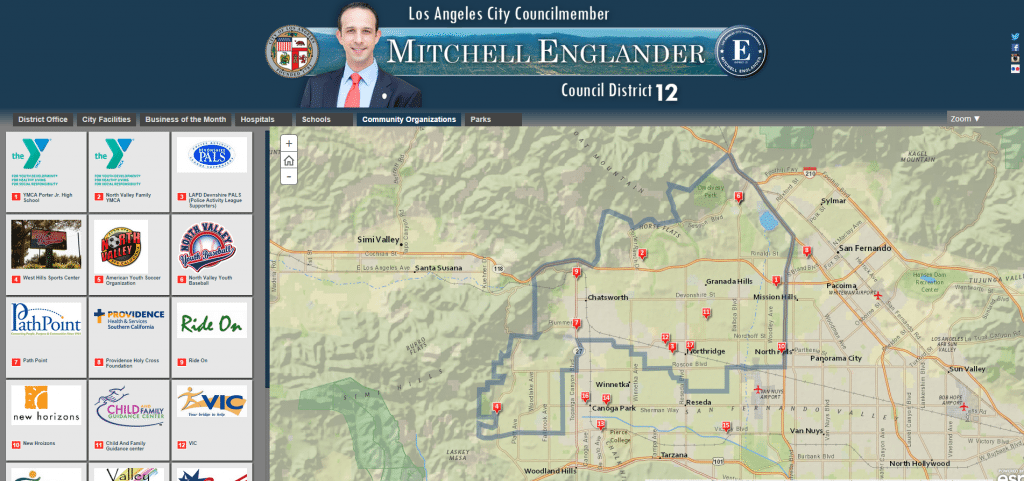 Councilmember Mitchell Englander   Council District 12