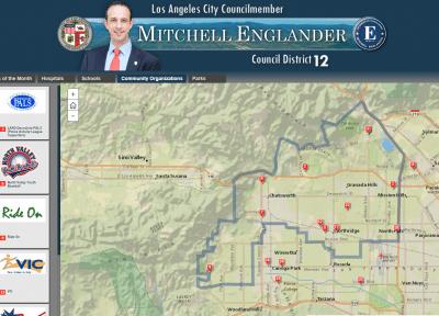 Councilmember Mitchell Englander   Council District 12