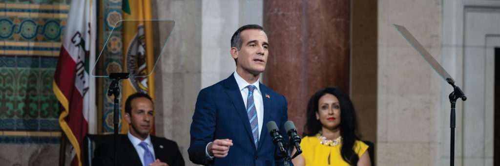 Mayor-Garcetti-delivering-the-2018-State-of-the-City-SOTC2018-newsletter-image